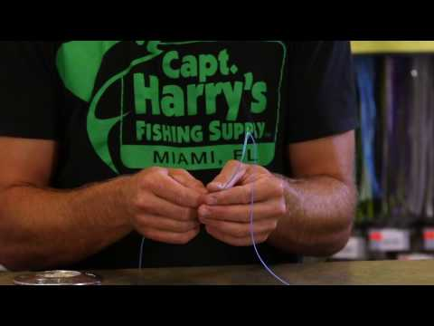 How To: Splice A Mono Top Shot On Hollow-Core Braid Backing For Marlin Fishing