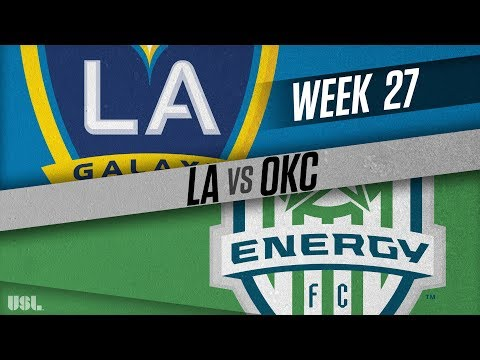 LA Galaxy II vs OKC Energy FC: September 12, 2018