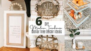 6 DIY DOLLAR TREE MODERN FARMHOUSE KITCHEN DECOR IDEAS