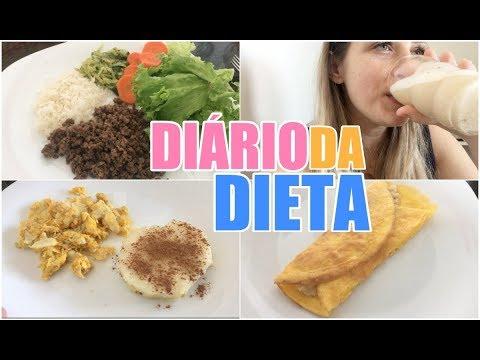 MINHA DIETA PRA EMAGRECER E AMAMENTAR - DIÁRIO DA DIETA