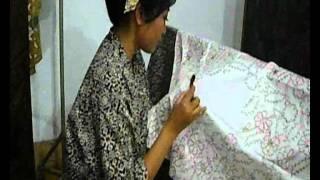 Proses Pembuatan Batik Tulis Alus