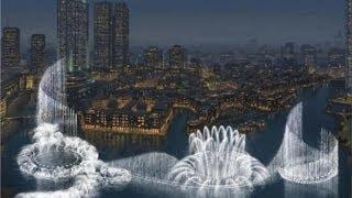 Шоу поющих фонтанов в Дубае 2 \ Singing fountains show in Dubai 2