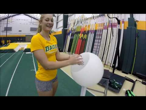 Any Given Drill Day - Baylor Pole Vault