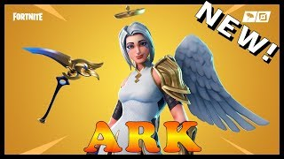 "NOUVEAU ""ARK"" SKIN in FORTNITE - NEW ""LAZY SHUFFLE"" EMOTE // Playing With SUBSCRIBERS"