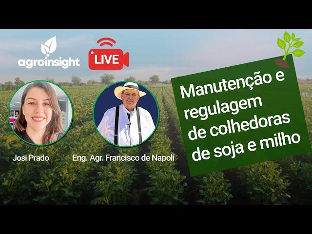 Manutenção e Regulagem de colhedoras de Soja e Milho