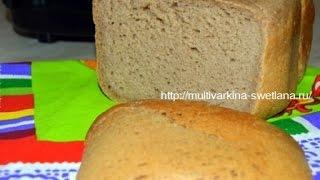 Гречневый хлеб в хлебопечке Филипс HD 9046