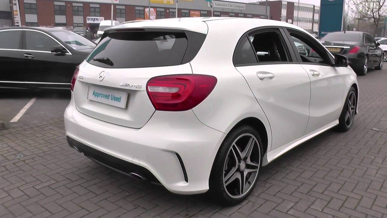 mercedes benz a class a200 blueefficiency amg sport 5dr auto u21316 youtube. Black Bedroom Furniture Sets. Home Design Ideas