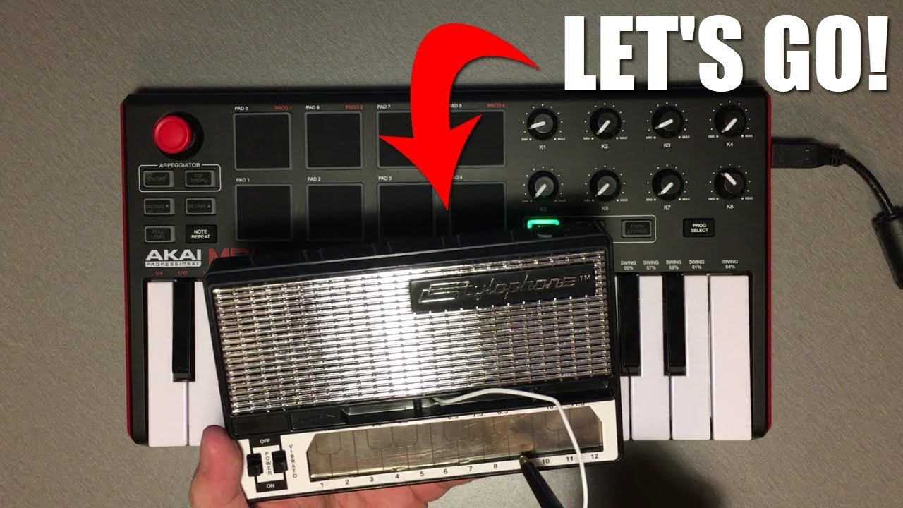 How To Play LET'S GO Meme on Stylophone and Piano - YouTube