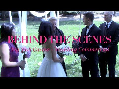 Behind The Scenes - Big Fish Casino commercial [Wedding]