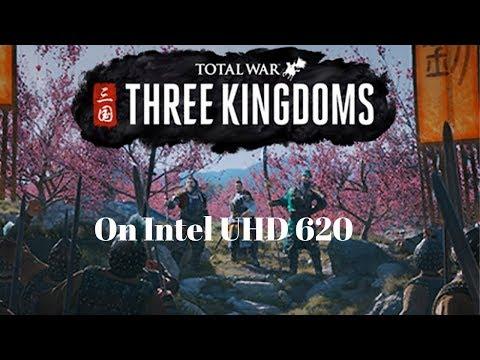 Gaming on Intel Graphics(Intel UHD Graphics620)Total War Three Kingdoms/Gamingon LenovoThinkpad L480 |