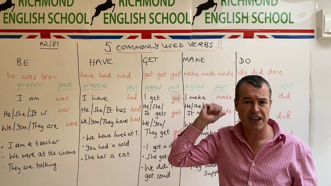 MINI CLASS WITH TOM! - A2/B1 level grammar #5