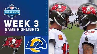 Tampa Bay Buccaneers vs Los Angeles Rams Highlights HD | NFL Week 3 | September 26, 2021