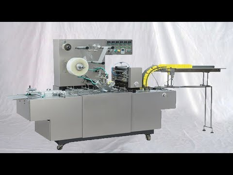 toy boxes overwrapping machine fully automatic 3D overwrapper equipment cajas de embalaje
