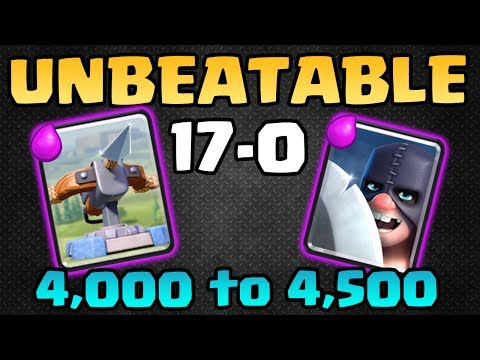 UNBEATABLE XBOW EXECUTIONER DECK! 17-0! No Losses Log! - Clash Royale
