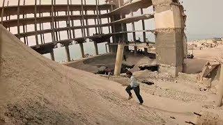 Meet the Wallrunners of Gaza.