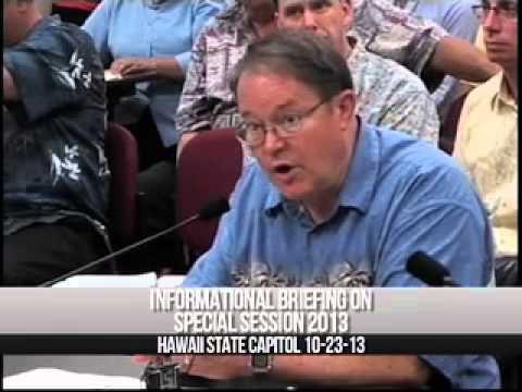 Prof. Lynn Wardle  Briefing House of Representatives - Hawaii Oct 2013