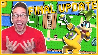 IT'S FINALLY HERE!!! Mario Maker 2 FINAL UPDATE Reaction + Impressions!