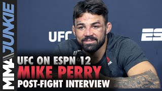 Mike Perry: 'Nobody's Going To Stop' Darren Till Fight | UFC On ESPN 12 Post-fight Interview
