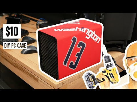 How to make a PC case from scratch (DIY PC case)