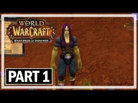 World of Warcraft Walkthrough Part 1 Warlock - Let's Play Gameplay