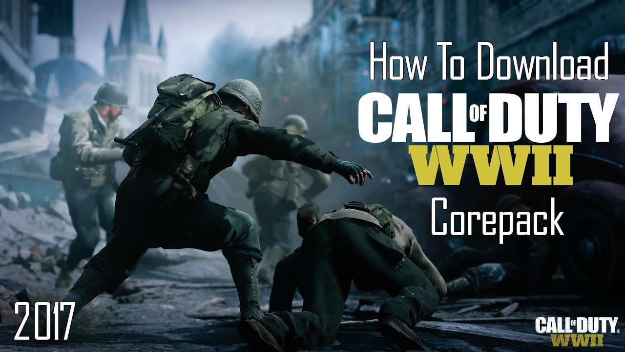 How To Download Call of Duty World War II Corepack