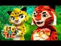 Leo and Tig 🦁 Episode 20 - New animated movie - Kedoo ToonsTV