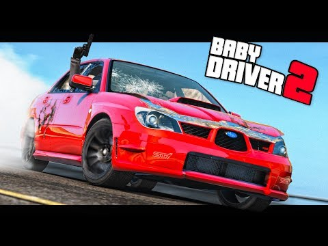 Grand Theft Auto 5 - Baby Driver 2 - GTA 5 Short Film