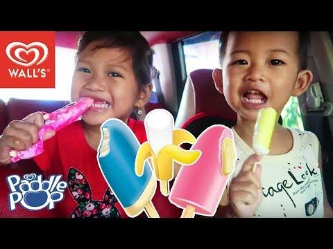 [Icip-Icip] ES Krim Paddle Pop Pink Lava, Icy Float, dan Banana Boat 💖 Rasanya Yummie