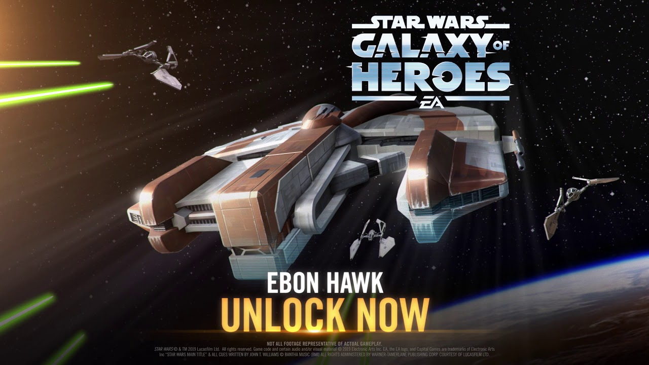 Star Wars Galaxy Of Heroes The Ebon Hawk Has Arrived Youtube Tohn (kamadan, jewel of istan). star wars galaxy of heroes the ebon hawk has arrived
