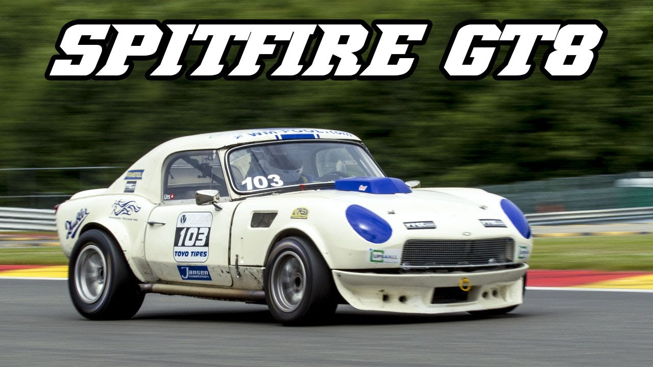 Triumph Spitfire Gt8 Small Car Big V8 Youtube
