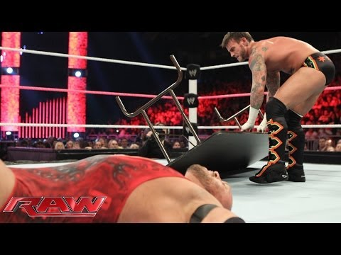 CM Punk vs. Ryback - WWE App Vote Match:...