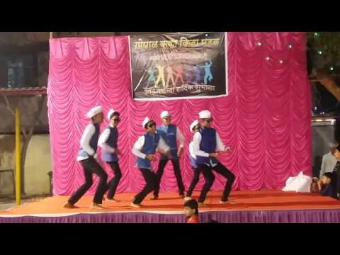 Govinda Funny Act Dance Performance - 1st January 2017