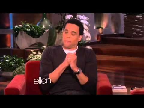 Michael Ealy and Ellen Share a Common Past2757