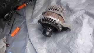 Dodge Caliber Alternator Replacement DIY