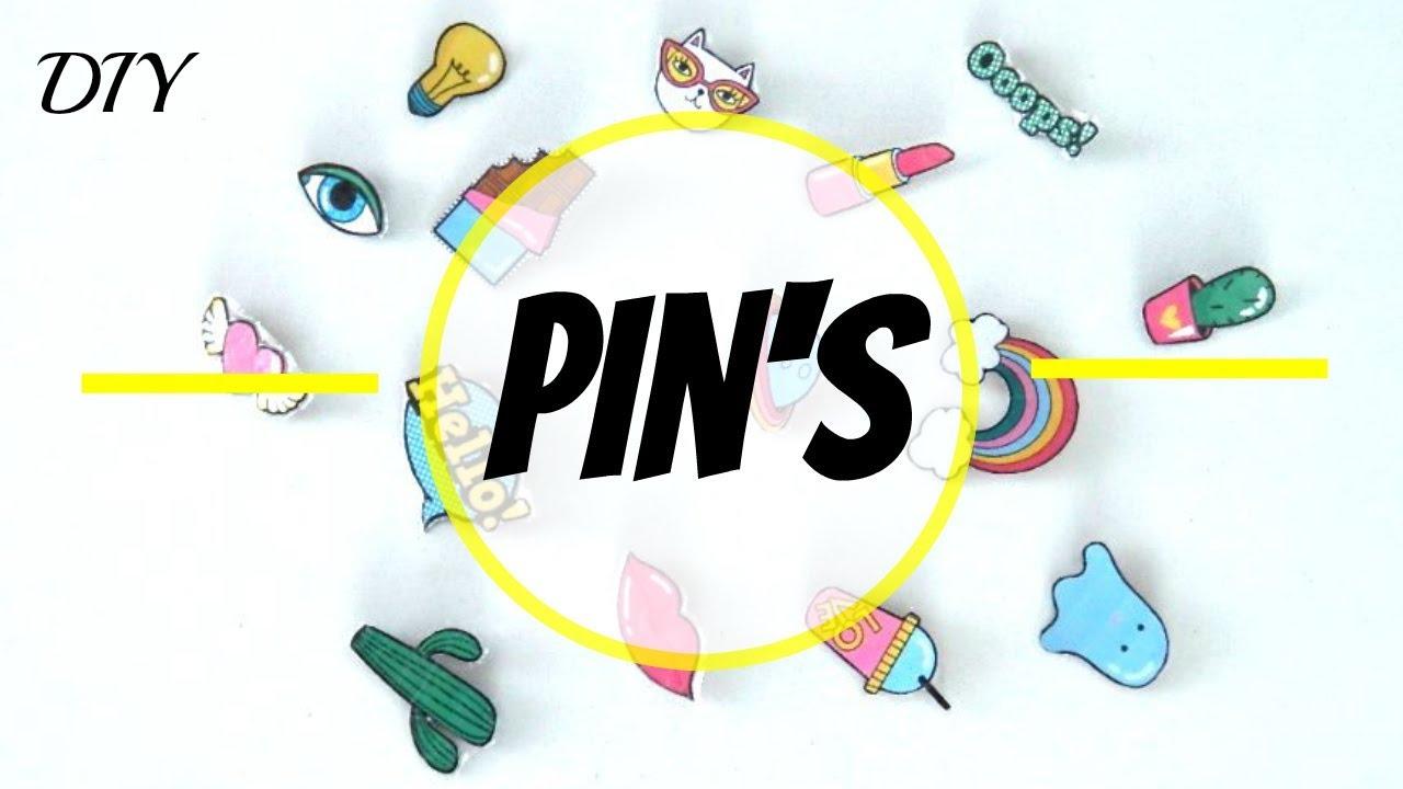 Comment Faire Des Badges Maison diy [fr] : comment faire plein de pin's rapidement !!