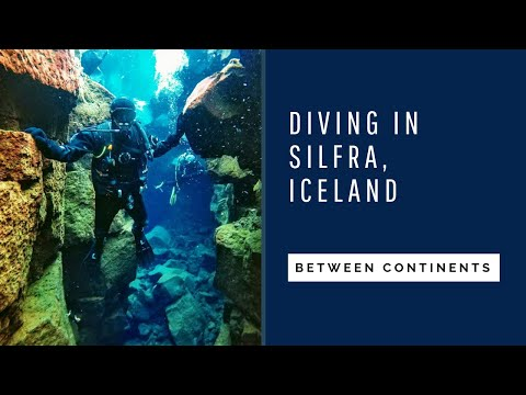 DIVING BETWEEN THE TECTONIC PLATES IN SILFRA (Iceland) REVIEW