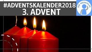 Bücher Gewinnspiel zum 3. Advent – Die Merkhilfe Adventskalender 2018 (Weihnachten)