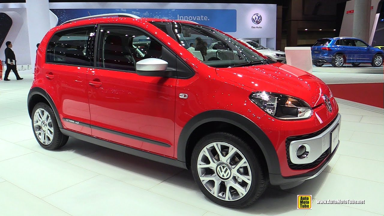 2016 volkswagen cross up exterior and interior walkaround 2015 tokyo motor show youtube. Black Bedroom Furniture Sets. Home Design Ideas