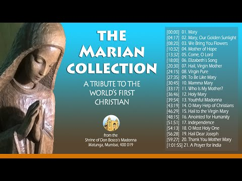 THE MARIAN COLLECTION (21 songs with lyrics to sing along)