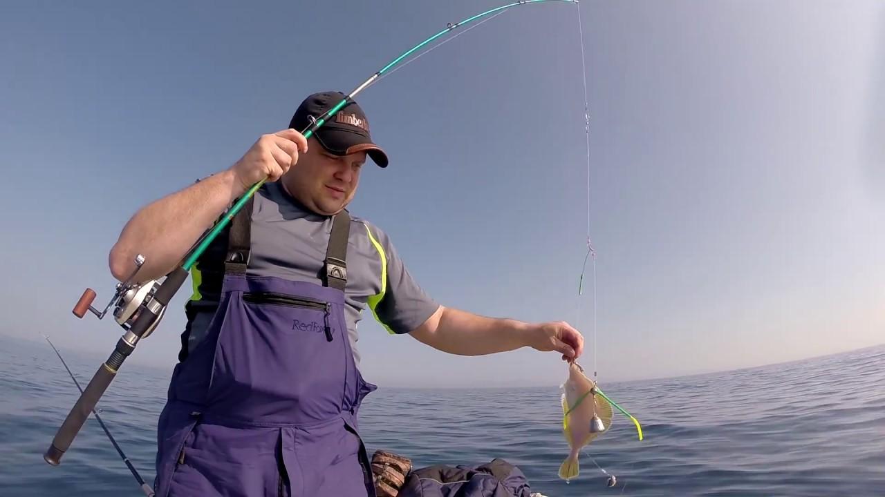 Морская Рыбалка 2017  Камбала , Краб , Катран (акула)  Владивосток Nikolay Baryshev