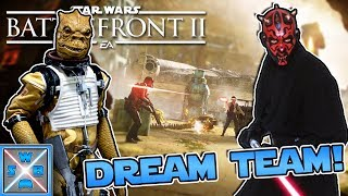 Maul und Bossk das Dream Team! - Lets Play STAR WARS BATTLEFRONT 2 - SWB Gaming
