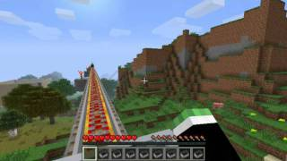 Minecraft Montaña Rusa interminable! [C...