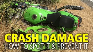 How to spot crash damage + how to prevent crash damage | Motorcycle checklist