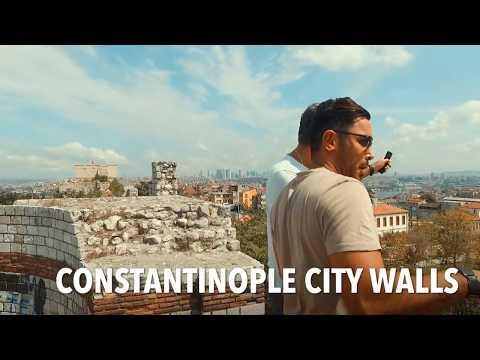 Крепостные Стены Константинополя - Стены Феодосия в Стамбуле - Www.gidstambul.com