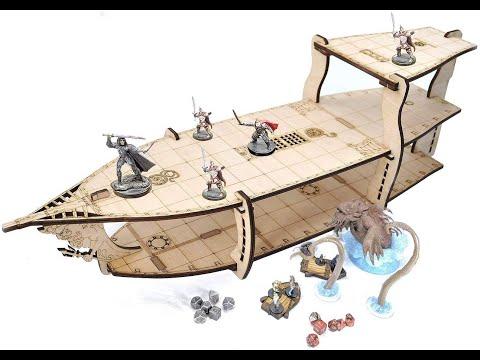 CZYY DIY Large 3 Level Brigantine Ship Bundle