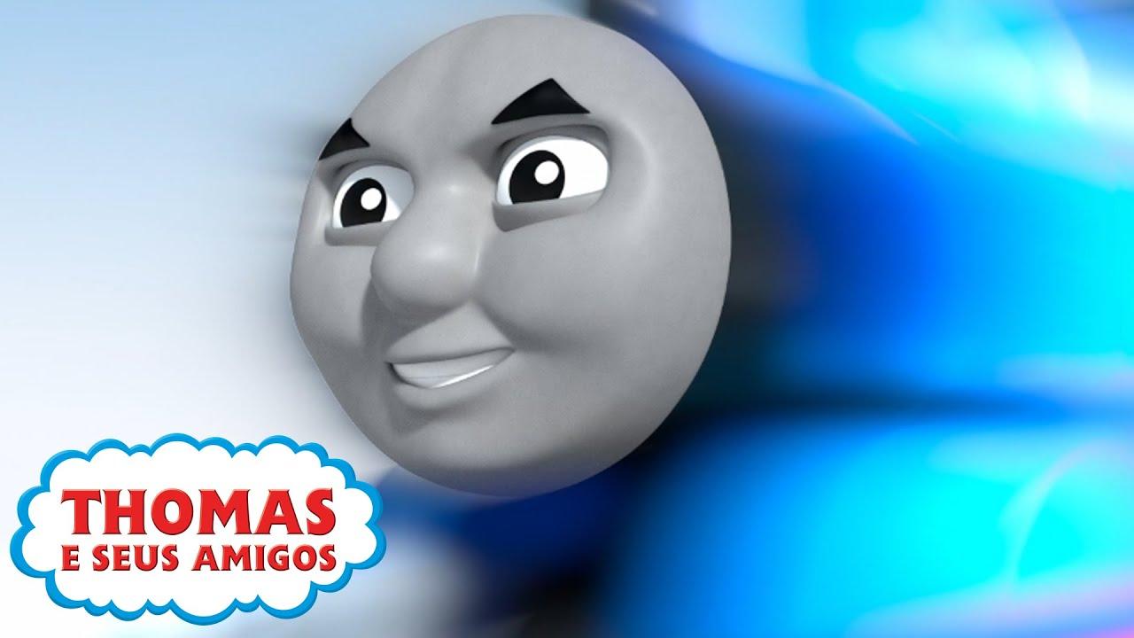 Thomas a todo vapor | Compilação | Desejos mágicos de aniversário do Thomas | Desenho Animados