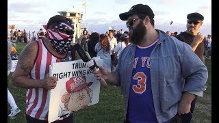 ANTIFA Gets Violent At Trump Protest in Laguna Beach | FLECCAS TALKS