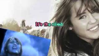 Miley Cyrus-The Climb-Karaoke