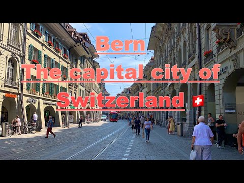 Bern, The Capital City Of Switzerland 🇨🇭 Downtown Bern