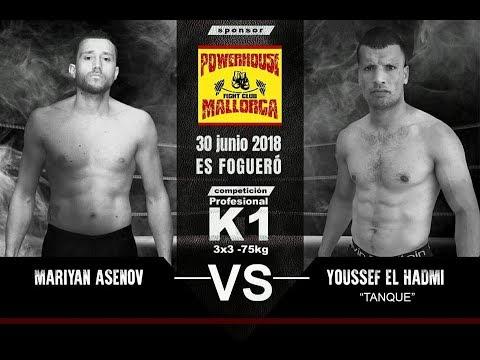 Mariyan Asenov  vs Youssef El Hadmi  (-75kg)